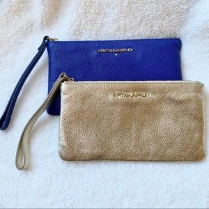 EUC CYNTHIA ROWLEY Wallet Wristlets - Lot of 2